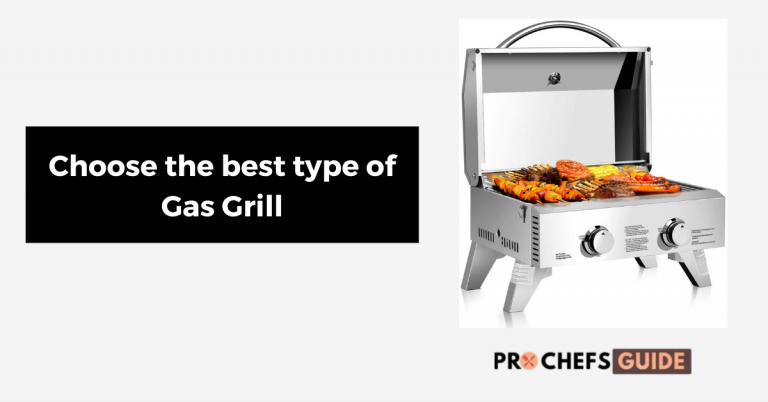 Type of gas grills